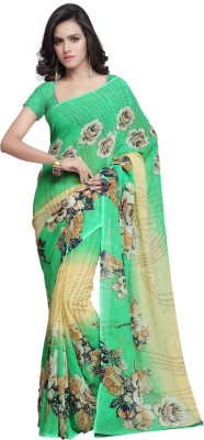 Prafful Printed Fashion Georgette Sari