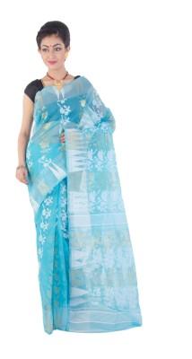ksc Woven Phulia Handloom Cotton Sari