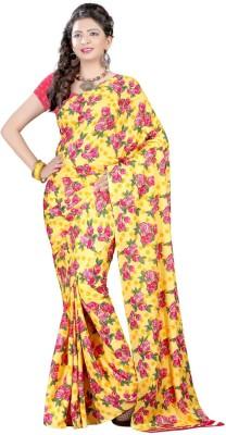 Shopping Queen Printed Daily Wear Crepe Sari