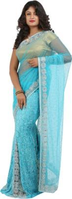 Jasmine Silk Self Design Fashion Net Sari