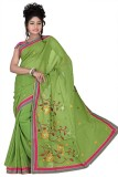 Chaand Sarees Embriodered Bollywood Silk...