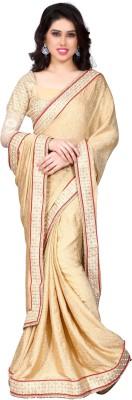 Kryptos Online Self Design Fashion Crepe Sari