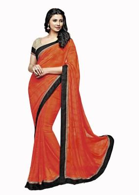 Vastrangsarees Embellished Fashion Georgette Sari