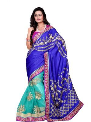 Aanchal Fashion Self Design Fashion Silk Sari
