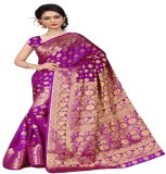 Hardik Printed Assam Silk Art Silk Saree...
