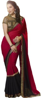 Andy Inc Embriodered Bollywood Georgette Sari