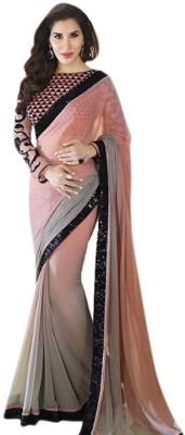 Prenea Self Design Fashion Handloom Georgette Sari