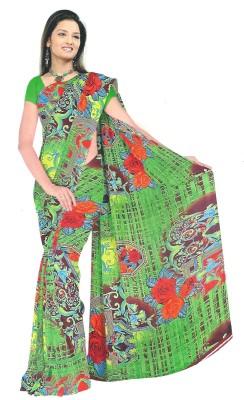 Archit Printed Daily Wear Art Silk Sari