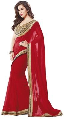 Andy Inc Self Design Bollywood Georgette Sari