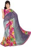 Janya Self Design Manipuri Georgette Sar...