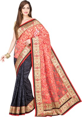 Shree Store Self Design Fashion Handloom Jute Sari