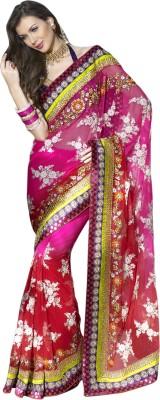 Lakmeart Embriodered Lehenga Saree Net Sari