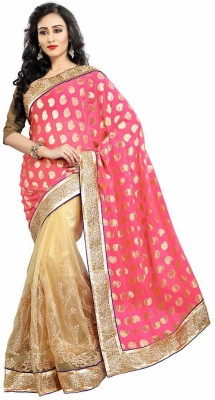 Royal Desi Apparel Embriodered Fashion Viscose Sari