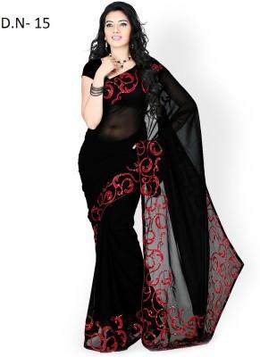 Meetwaa Self Design Bollywood Georgette Sari