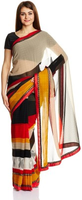 Aryahi Printed Fashion Georgette Sari