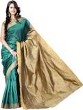 Vastrakala Solid Banarasi Cotton, Silk S...