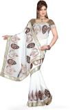 De Marca Printed Fashion Chiffon Saree (...
