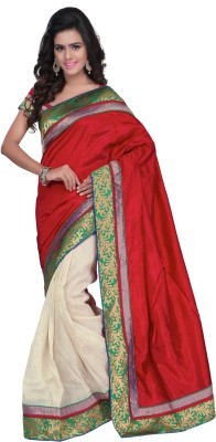 Idecore Self Design Banarasi Banarasi Silk Sari