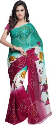 Cggram Printed Fashion Georgette Sari