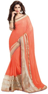 Usha Silk Mills Printed Bollywood Pure Georgette Sari