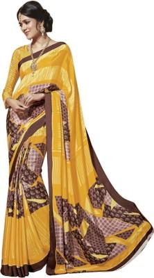 Vardhini Printed Fashion Crepe Sari