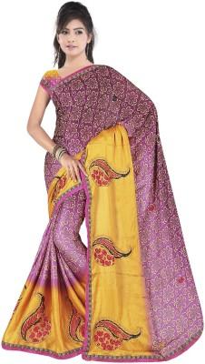 Varni Fashion Printed Fashion Georgette Sari