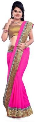 SanjuFashion Embriodered Bollywood Georgette Sari