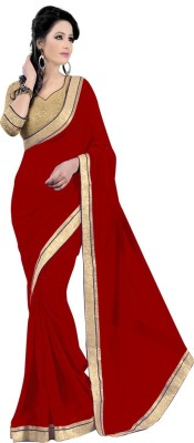 Shree Sanskruti Self Design Bollywood Chiffon Sari