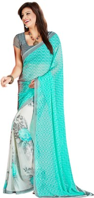Fashiondodo Printed Daily Wear Chiffon Sari