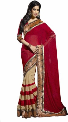 Mahalaxmi Fashion Applique Daily Wear Chiffon Sari