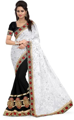 Rassam Embriodered Fashion Chiffon Sari