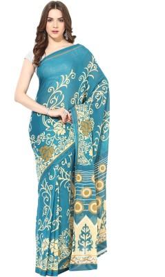 Fostelo Self Design Daily Wear Chiffon Sari