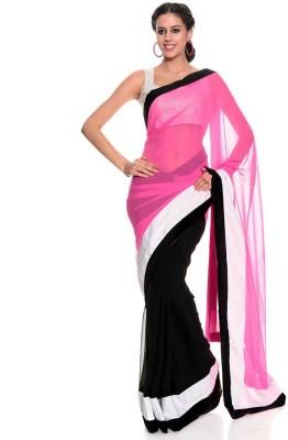 Aakansha Self Design Bollywood Chiffon Sari