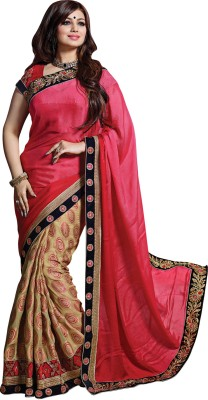 Snehaa Fashion World Self Design Fashion Pure Georgette Sari