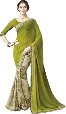 Granth Embriodered Bollywood Georgette Sari