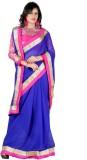 Bunny Sarees Solid Fashion Chiffon Saree...