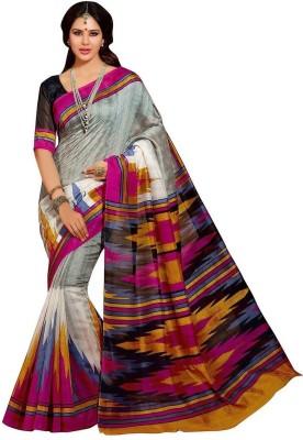 Santosafashion Printed Fashion Cotton Sari