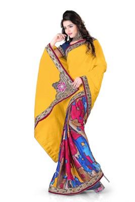 Sonia fashion Printed Bollywood Georgette Sari