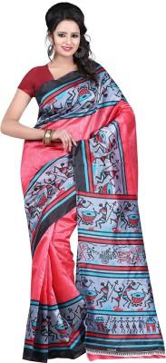 Kajal Sarees Printed Bollywood Georgette Sari