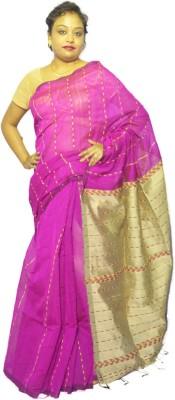 Fashion Gallery Woven Tangail Silk Cotton Blend Sari