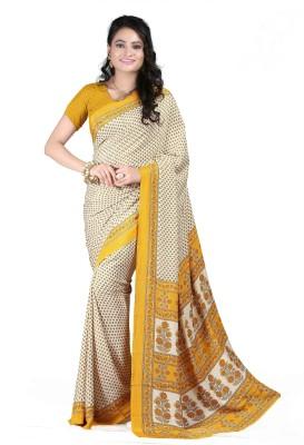 Anoha Printed Fashion Crepe Sari
