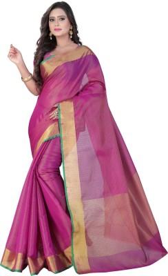 VASTRAKALA Self Design, Woven Bollywood Tissue Silk Sari