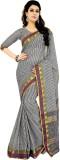 Jannat Checkered Fashion Cotton Saree (M...