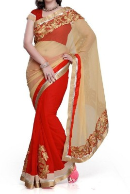 Parmar Design Embriodered Bollywood Georgette Sari