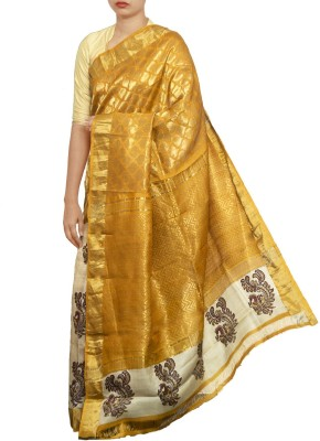 Unnati Silks Embellished Bollywood Tussar Silk Sari
