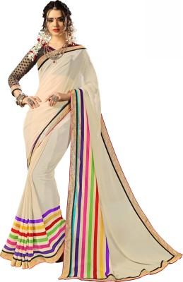 Tiana Creation Printed Fashion Georgette Sari
