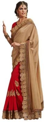Radhecreation Embriodered Bollywood Handloom Chiffon Sari