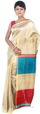 AVIK Self Design Bollywood Handloom Cotton, Silk Sari