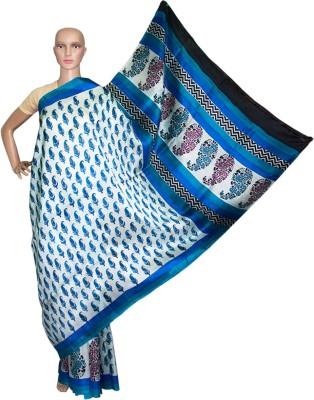Prateeti Printed Fashion Handloom Pure Silk Sari