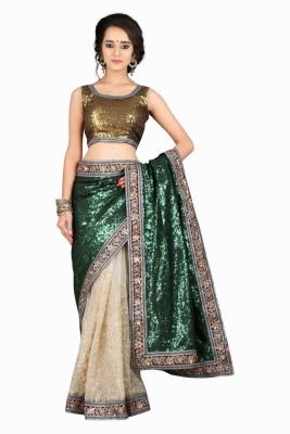 Fabron Embriodered, Embellished Bollywood Net, Georgette Sari